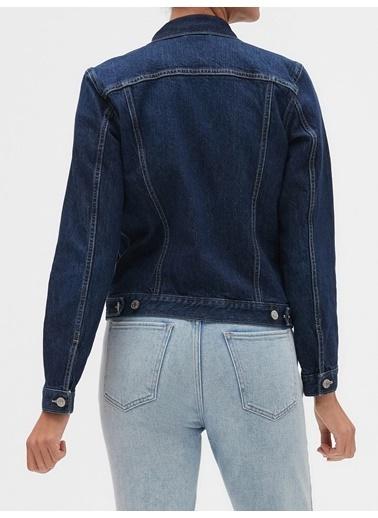 Gap Jean Ceket İndigo